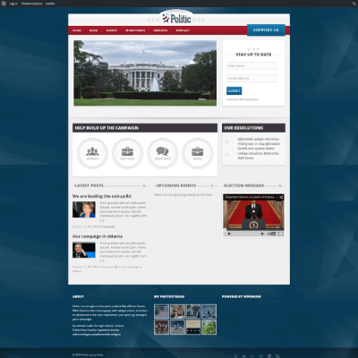WP_Theme_Politic_Full
